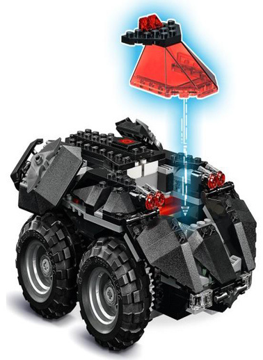 Lego LEGO Super Heroes Appcontrolled Batmobile Renkli